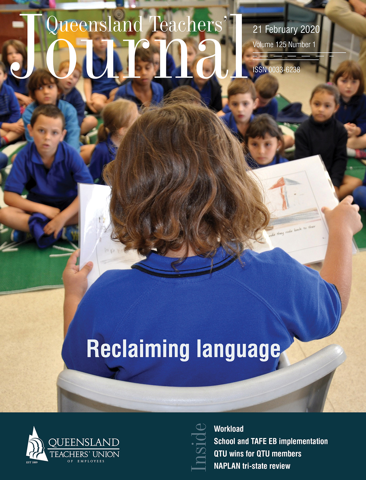 Queensland Teachers' Journal February 2020