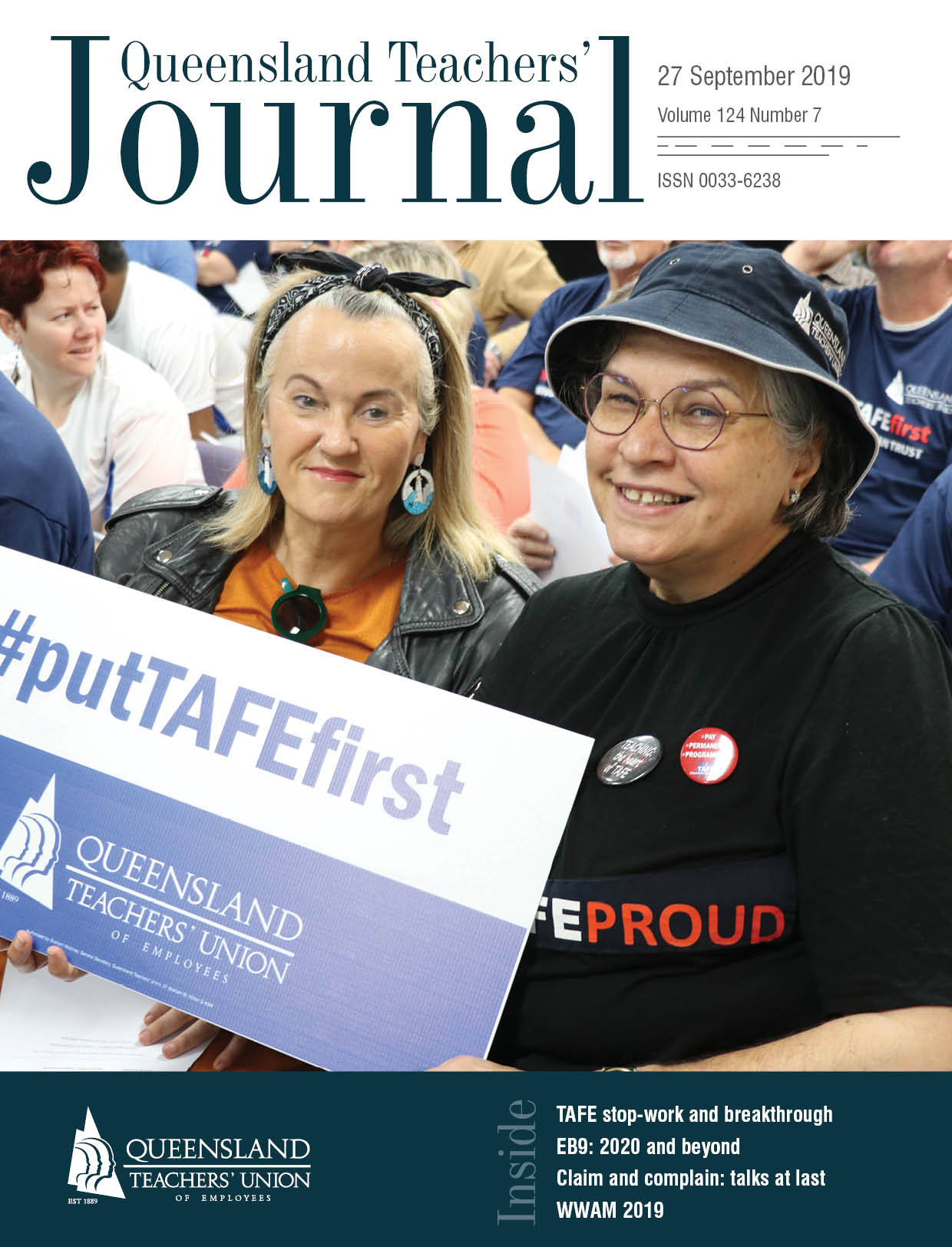 Queensland Teachers' Journal September 2019
